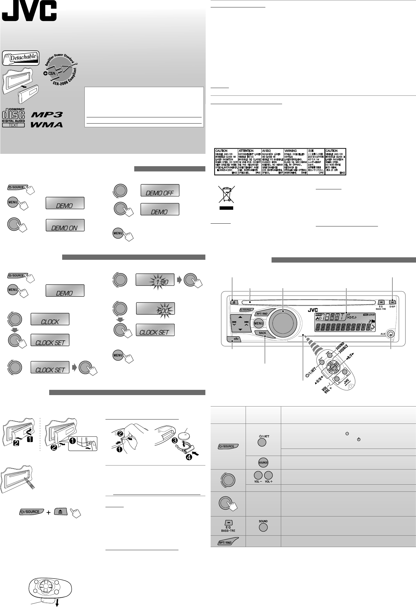 Jvc Car Kd R416 Pdf Document