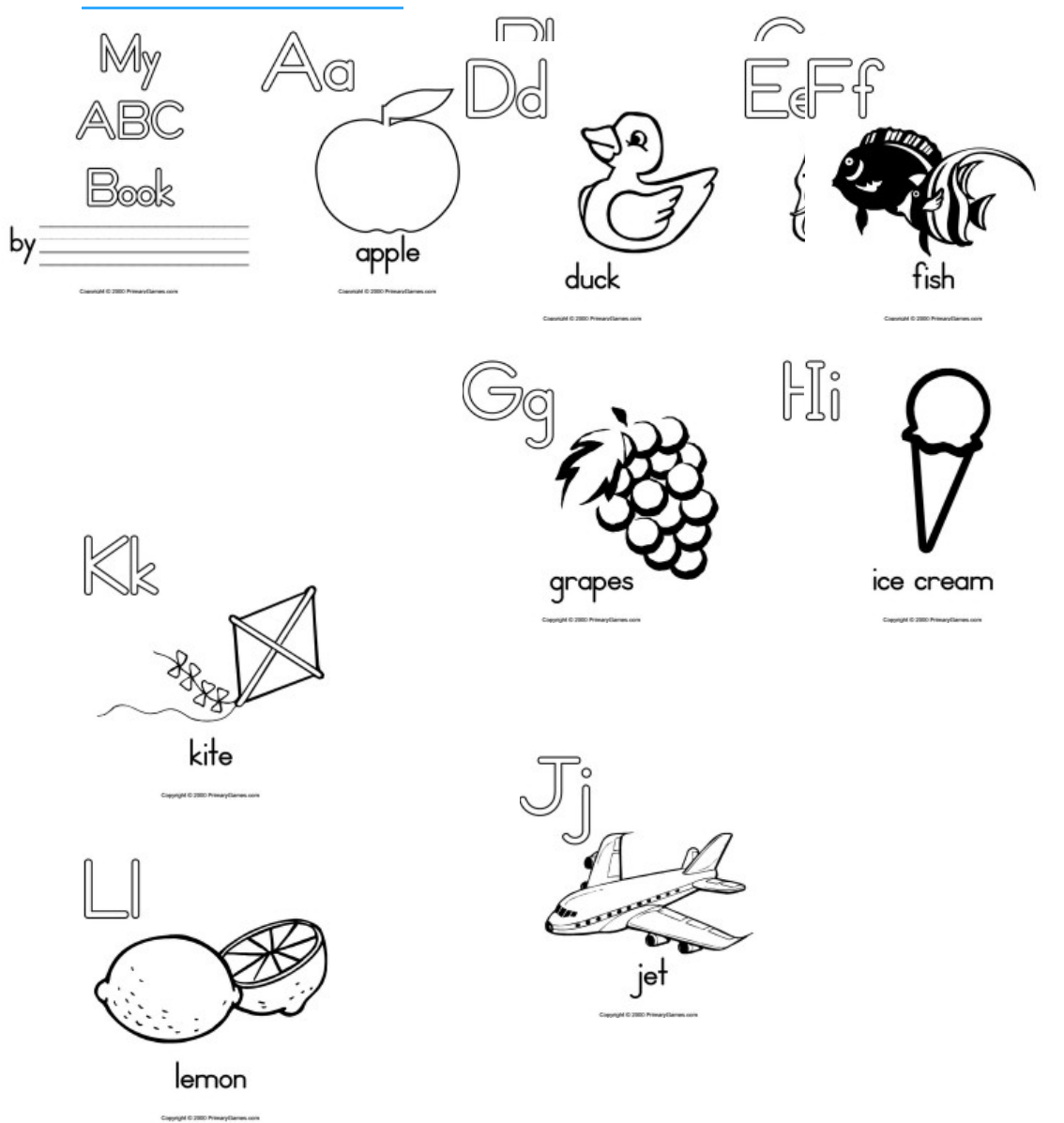 My ABC Book [DOCX Document]