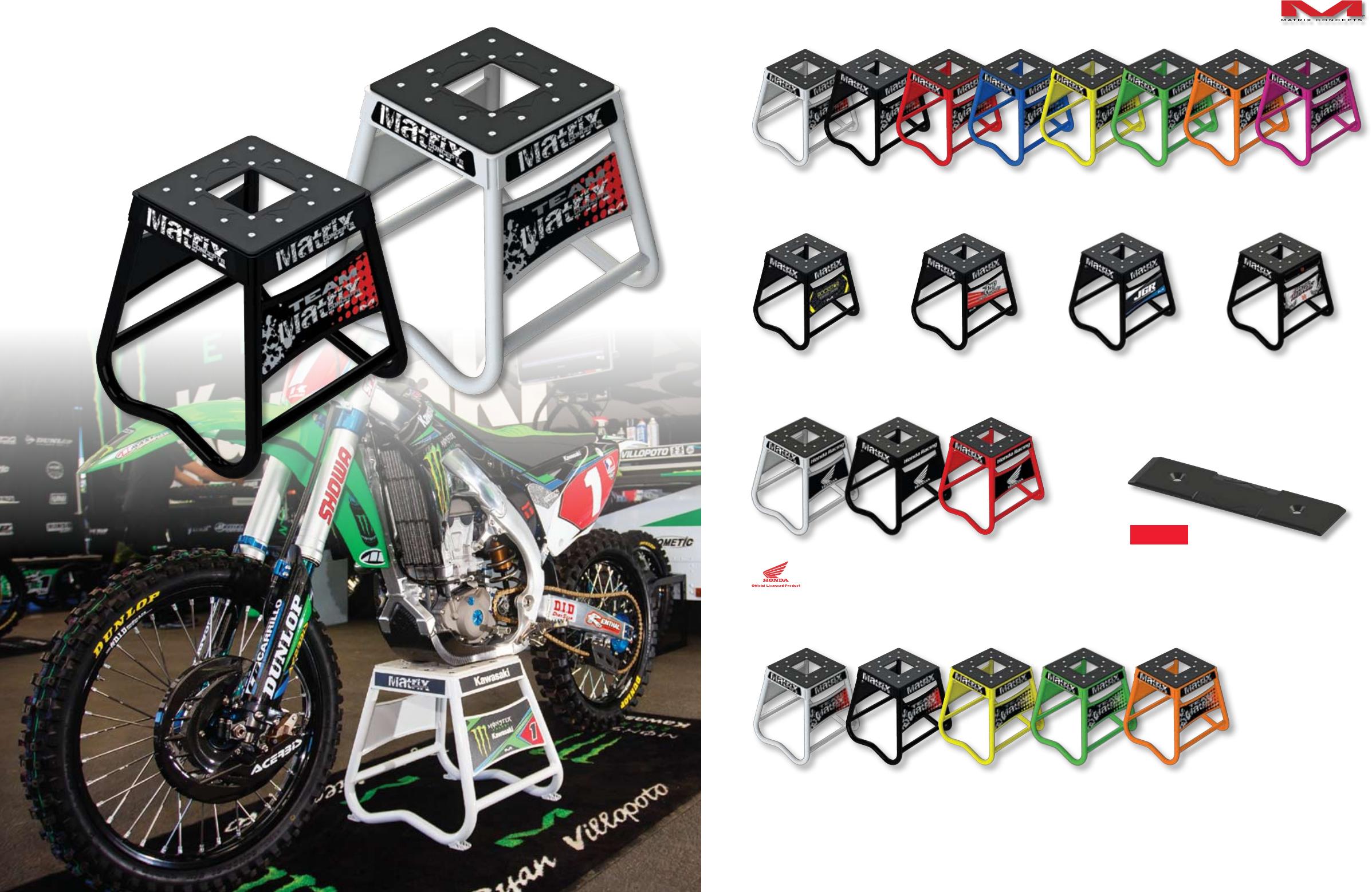 Black A7 101 Matrix Concepts A7 Aluminum Folding Ramp 7Ft