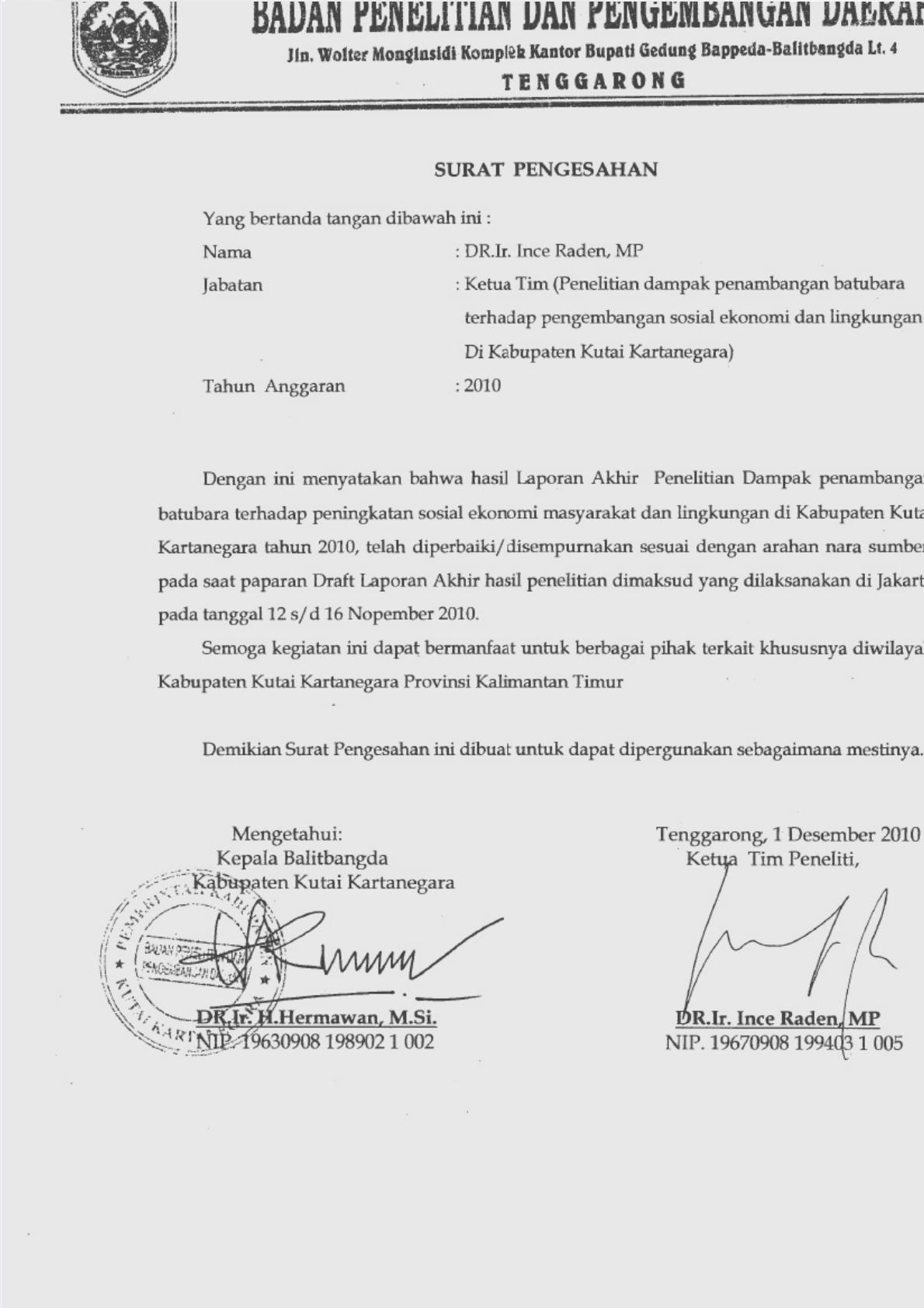 Penelitian Tambang Pdf Document