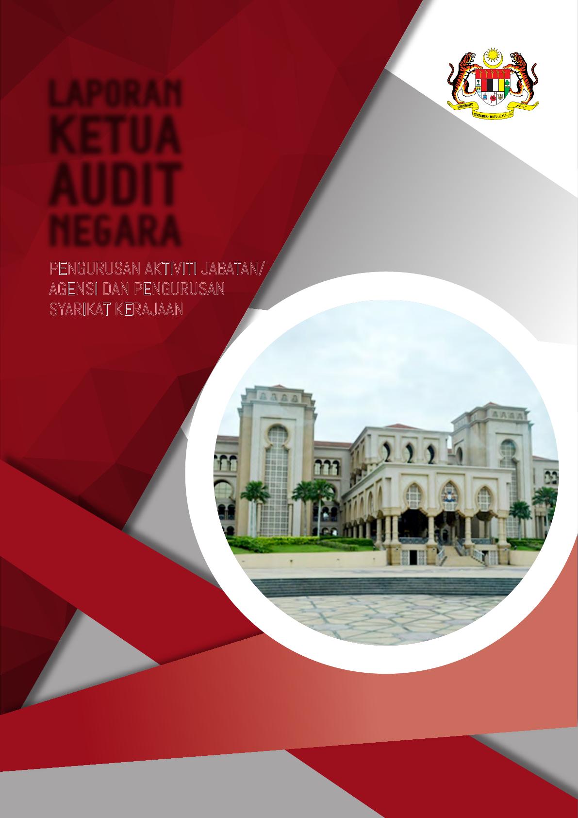 Laporan Ketua Audit Aktiviti Johor Pdf Jabatan Audit Negara Malaysia No 15 Aras 1 5 Persiaran Pdf Document